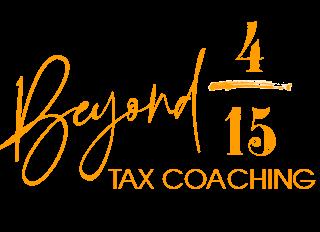 Beyond 4/15 Tax Coaching